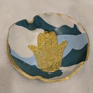 Handmade Hamsa Ring Bowl